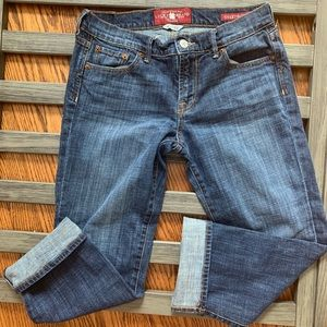 Lucky Brand size 4 cropped jeans